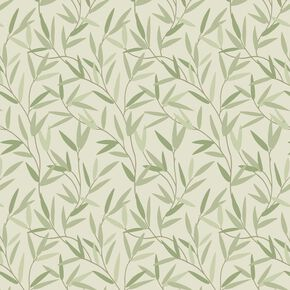 Willow Leaf Hedgerow Wallpaper, , wallpaperIT
