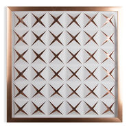 Rose Gold Stroma Framed Wall Art, , wallpaperIT
