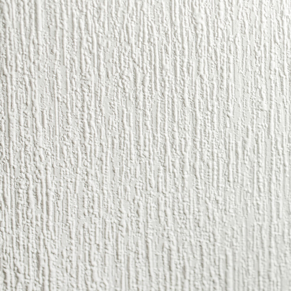 Superfresco Paintable Mercer White Durable Heavy Duty Wallpaper