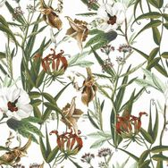 Urban Floral Multicolour Wallpaper, , wallpaperIT