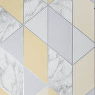 Marble Geo Yellow Wallpaper, , wallpaperIT