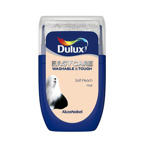 Dulux Easycare Soft Peach 30ml Tester Pot, , wallpaperIT