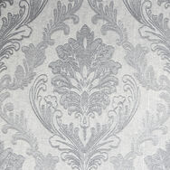 Corsetto Damask Light Silver Wallpaper, , wallpaperIT