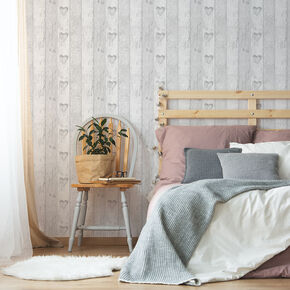 Wood Plank Love Heart Wallpaper, , wallpaperIT
