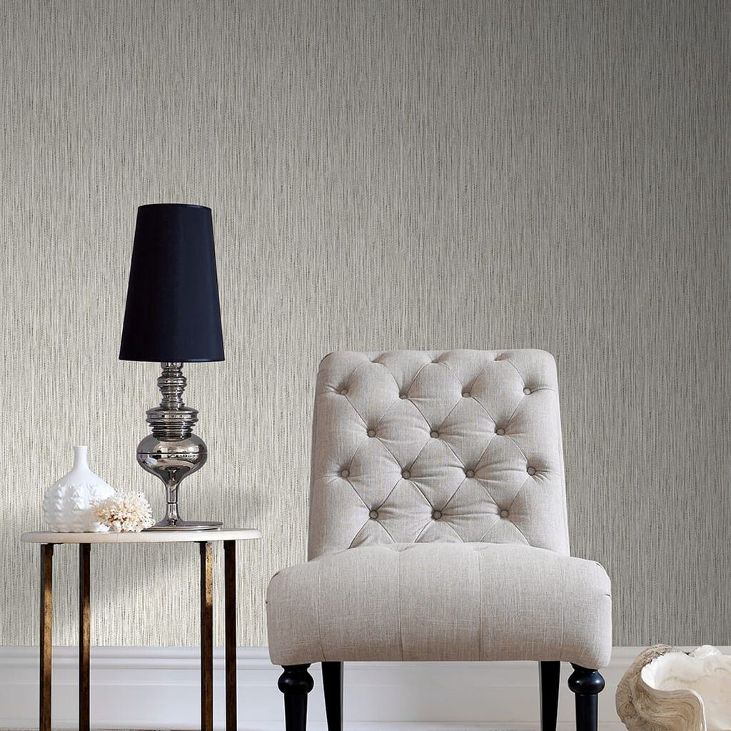 Grasscloth Cream Wallpaper, , wallpaperIT