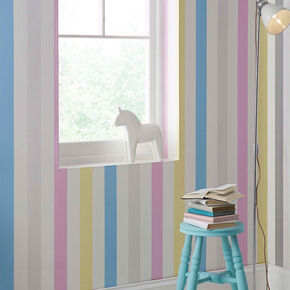 Cotton Candy Stripe Wallpaper, , wallpaperIT