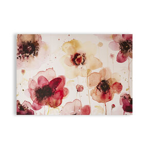 Painterly Blossoms Printed Canvas Wall Art, , wallpaperIT