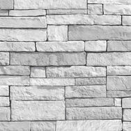 Ledgestone White Wallpaper, , wallpaperIT