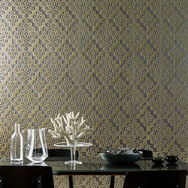 Taupe Twist Wallpaper, , wallpaperIT