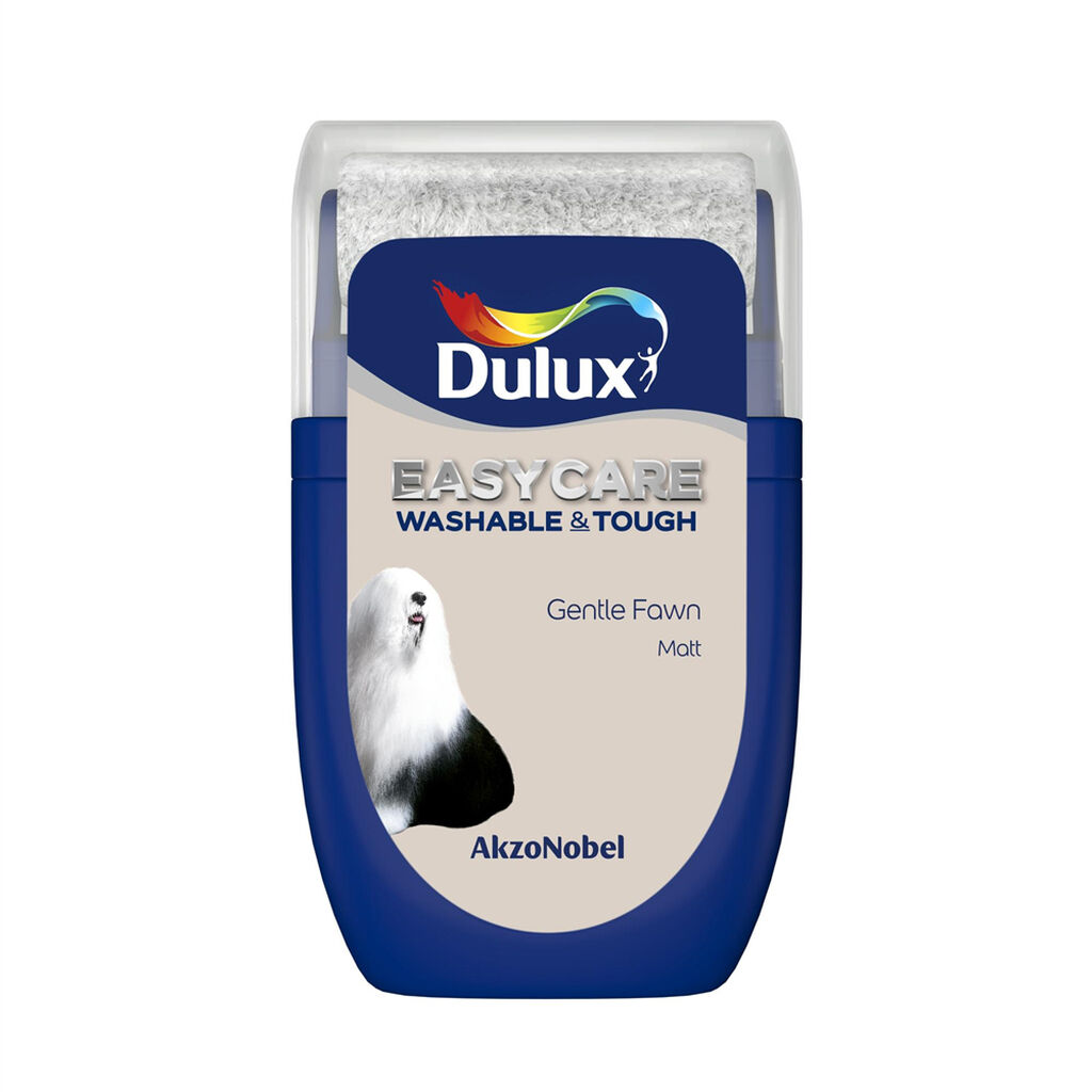 Dulux Easycare Gentle Fawn 30ml Tester Pot, , wallpaperIT