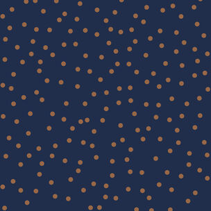 Confetti Navy & Copper Wallpaper, , wallpaperIT