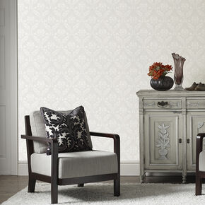 Medium Damask Wallpaper, , wallpaperIT