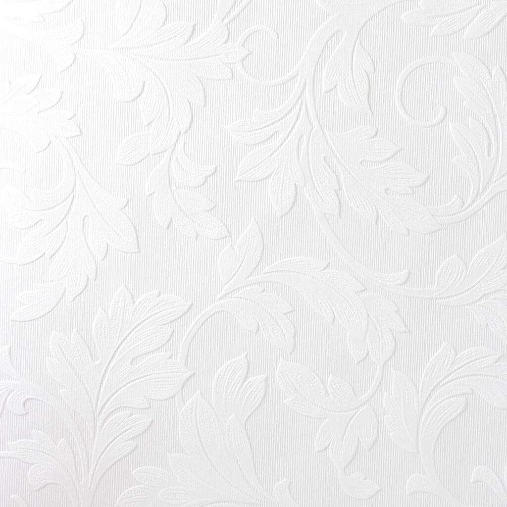 Graham and Brown 15069 Large Scale Textured Scrolling Leaf
