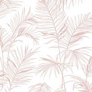 Litho Tropical Pink Wallpaper, , wallpaperIT