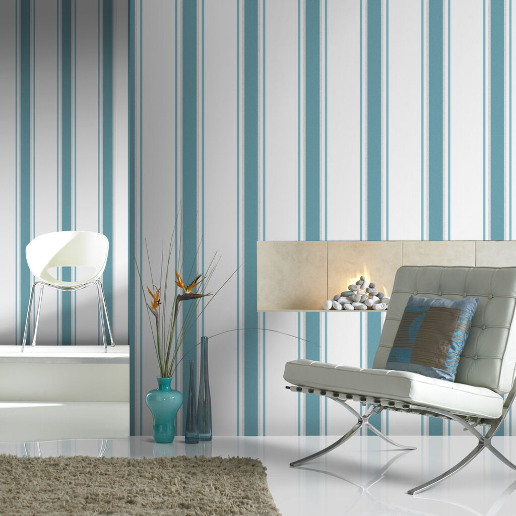 Orla Teal and Silver Wallpaper, , wallpaperIT