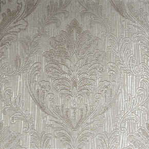 Corsetto Damask Taupe Wallpaper, , wallpaperIT