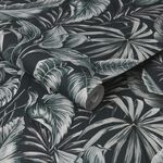 Leaves Exotique Green Wallpaper