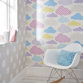 Dotty Grey Wallpaper, , wallpaperIT