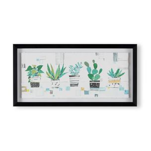 House Plant Haven Framed Print, , wallpaperIT