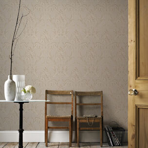 Oxford Beige and Gold Wallpaper, , wallpaperIT