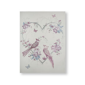 Elegant Songbirds Wall Art, , wallpaperIT