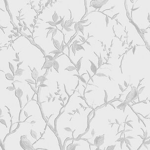 Laos Trail White & Silver Wallpaper, , wallpaperIT