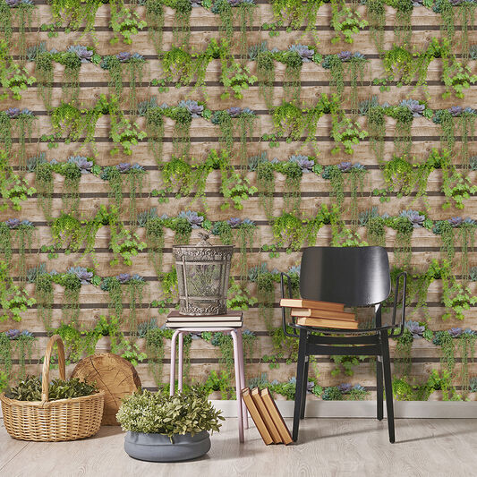 Palissa Vegetal Green Wallpaper, , wallpaperIT