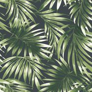Elegant Leaves Green Wallpaper, , wallpaperIT
