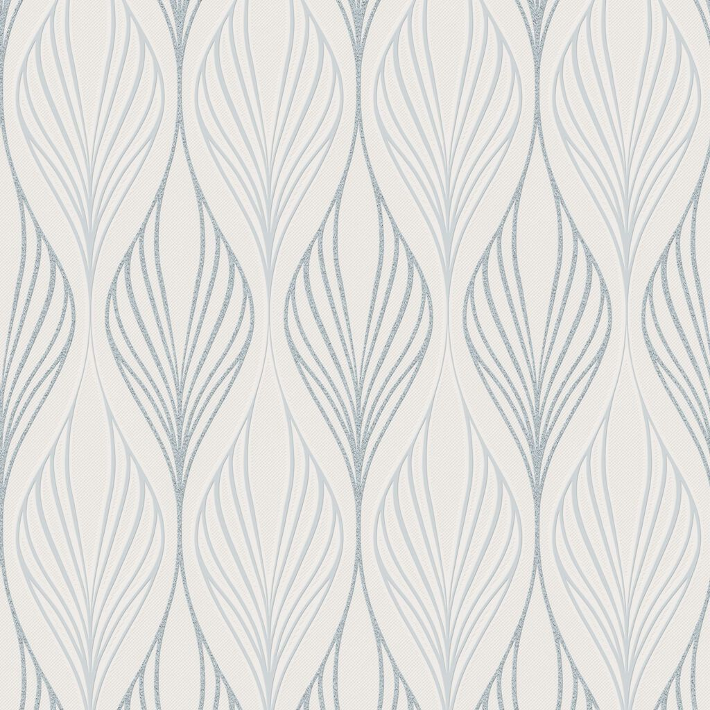 Optimum White and Duck Egg Wallpaper, , wallpaperIT