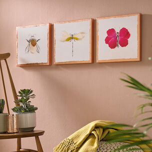 Beautiful Bugs Printed Canvas Wall Art, , wallpaperIT