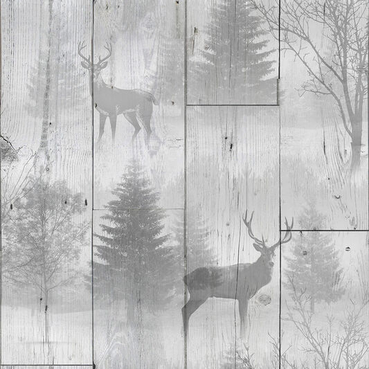 Highland Plank Grey Wallpaper, , wallpaperIT