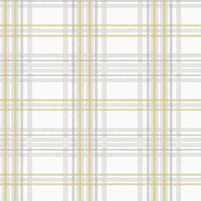 Country Tartan Yellow Wallpaper, , wallpaperIT