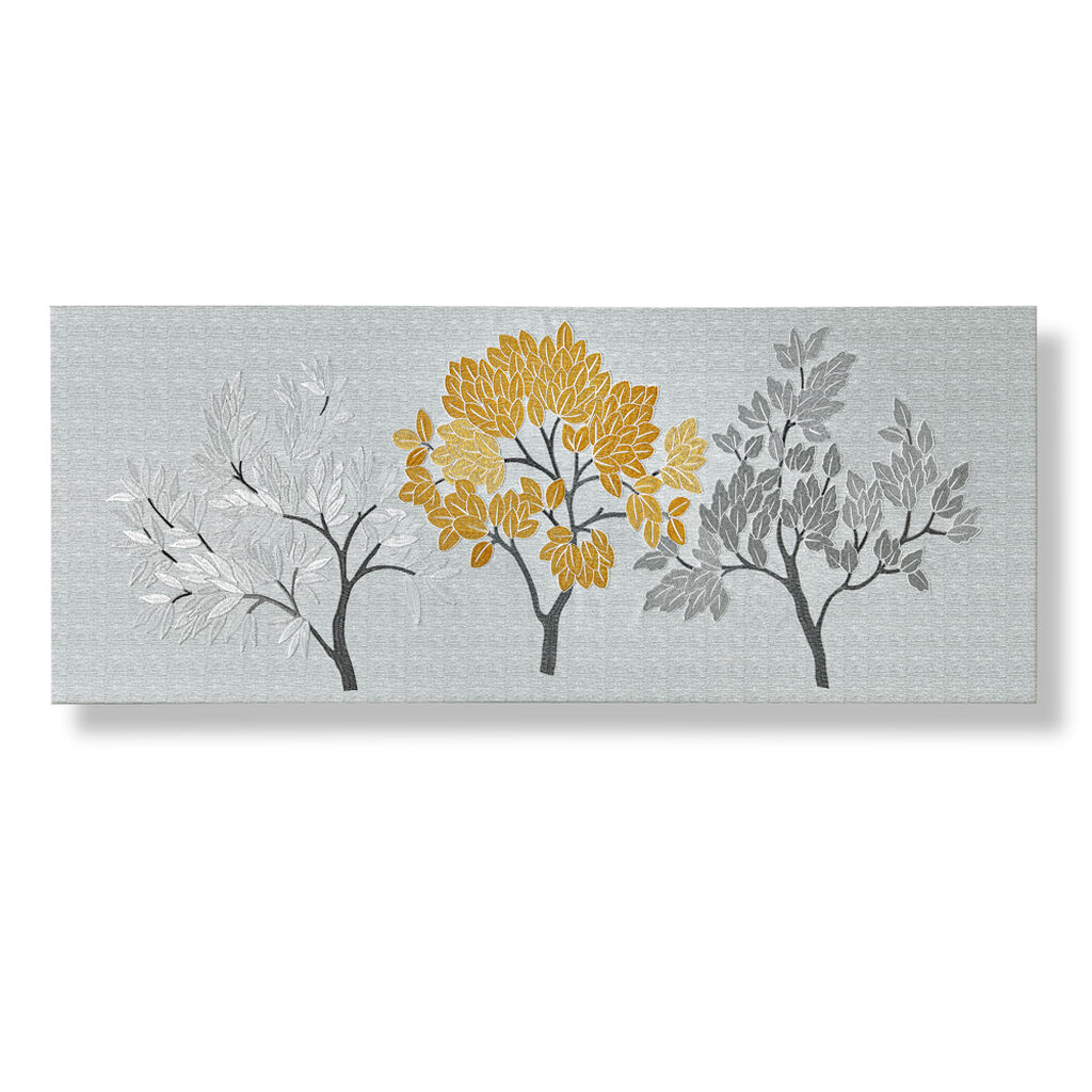 Tranquil Trees Fabric Canvas, , wallpaperIT
