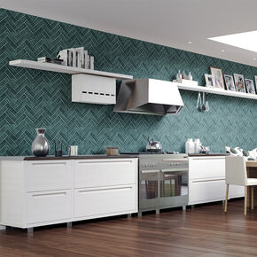 Lustro Teal Wallpaper, , wallpaperIT