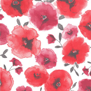 Poppies Red Wallpaper, , wallpaperIT