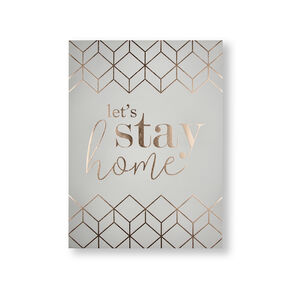 Let's Stay Home Wall Art, , wallpaperIT