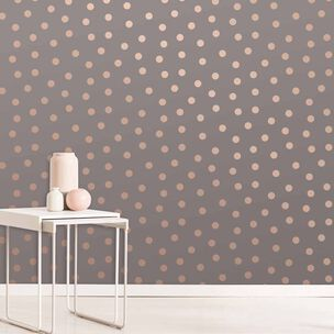 Starlight Spots Charcoal Wallpaper, , wallpaperIT