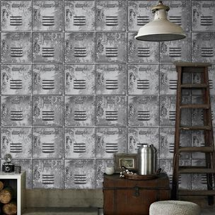 Locker Grey Wallpaper, , wallpaperIT