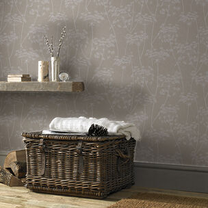 Aura Taupe Wallpaper, , wallpaperIT