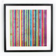 Neon Stripe Wall Art, , wallpaperIT