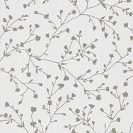Silhouette White & Silver Wallpaper, , wallpaperIT