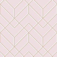 Losanges Filaires Pink Wallpaper, , wallpaperIT