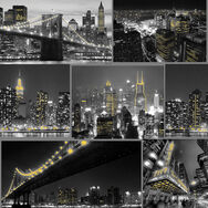 City At Night Black Wallpaper, , wallpaperIT