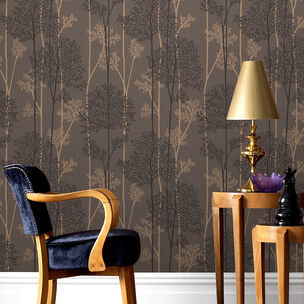 Eternal Chocolate and Bronze Wallpaper, , wallpaperIT