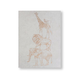 Safari Animals Canvas Wall Art, , wallpaperIT