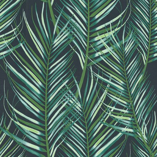 Palm Leaf Green Wallpaper, , wallpaperIT
