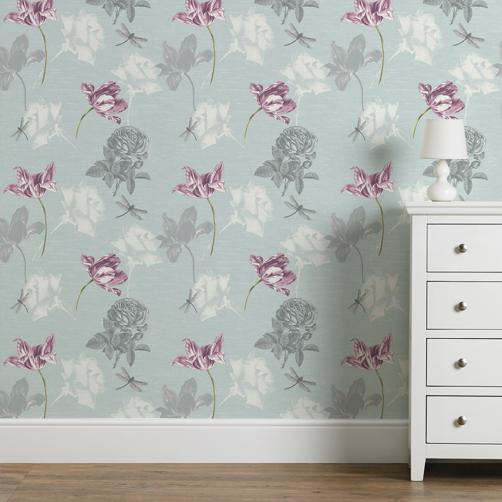 Dulcie Blue Wallpaper, , wallpaperIT