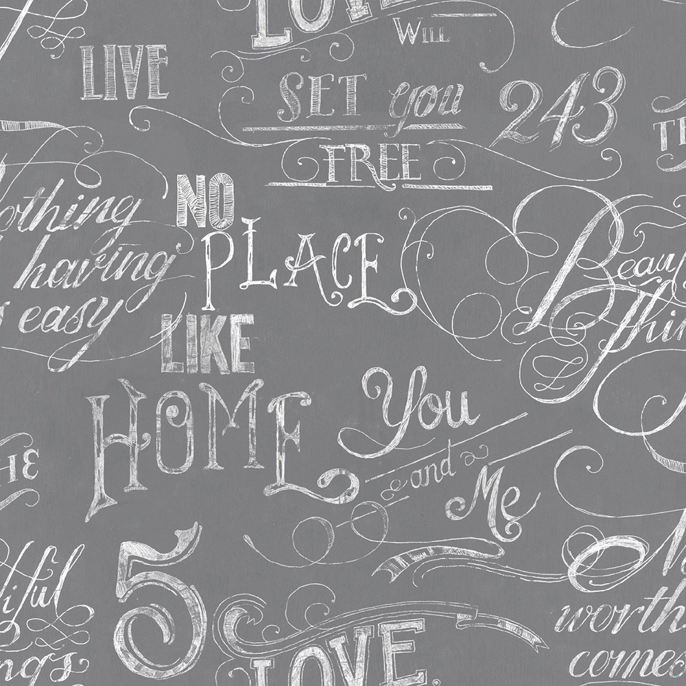 Chalk Board Gray Wallpaper, , wallpaperIT
