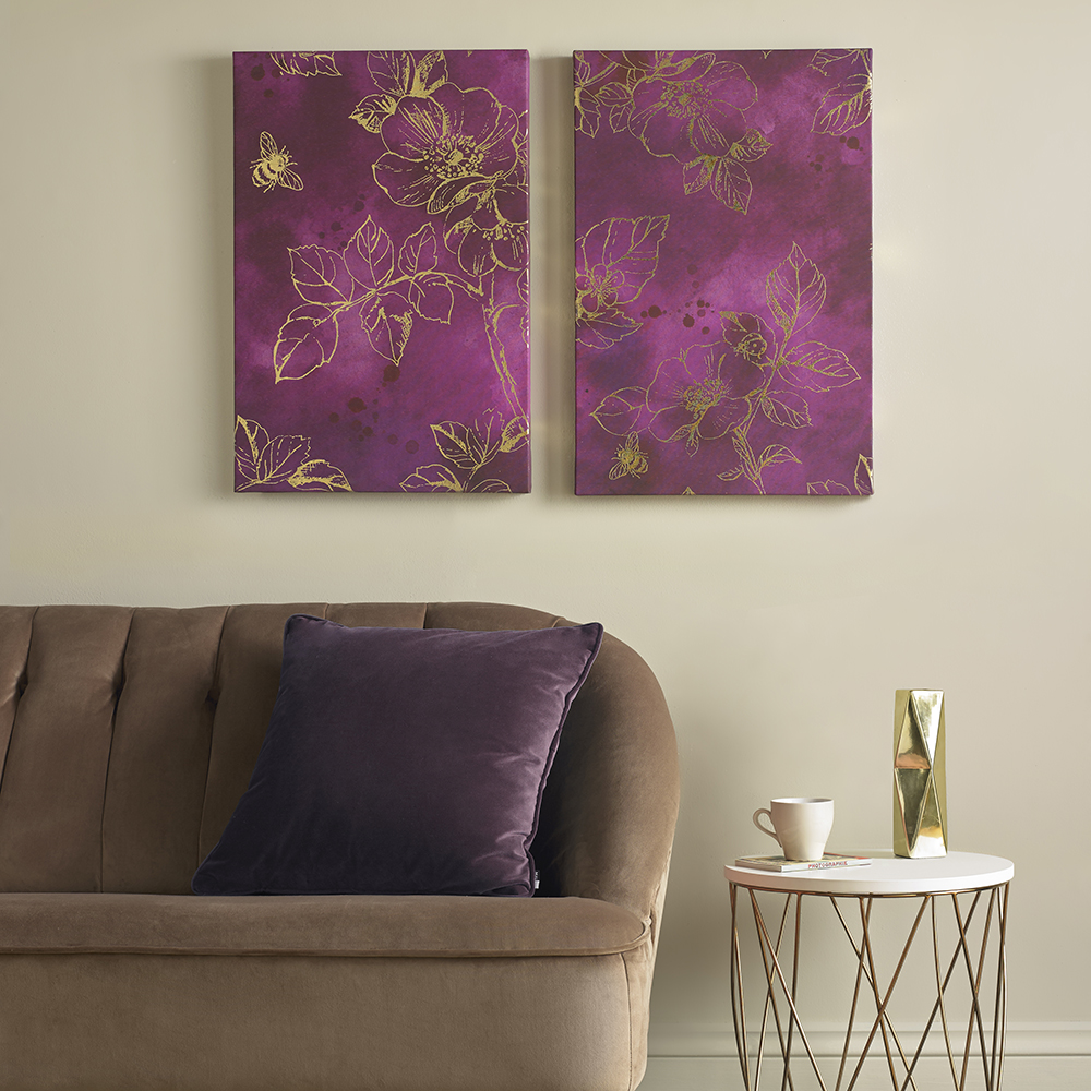 Mulberry Trail Printed Canvas Wall Art, , wallpaperIT