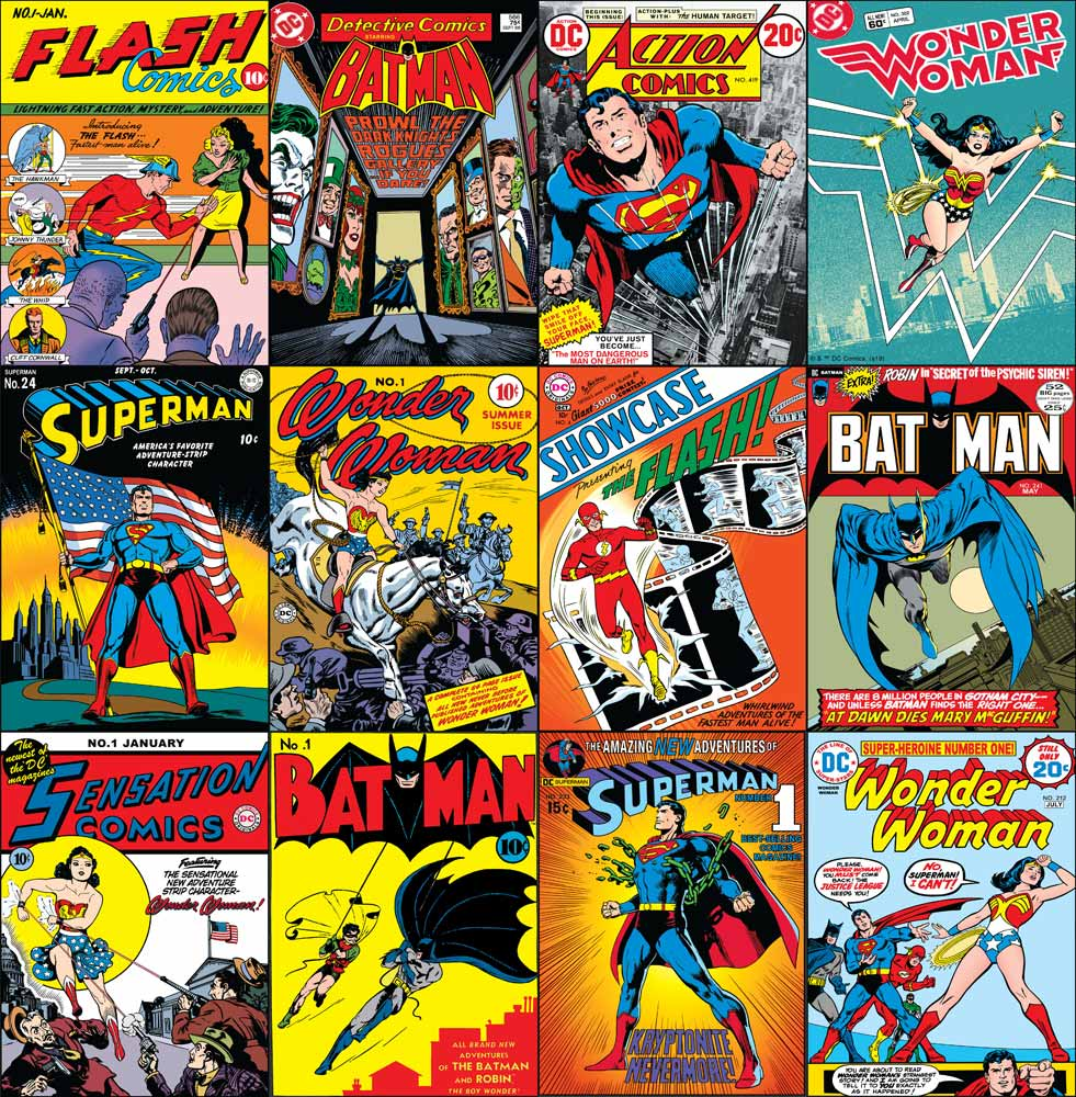 DC Comics Collection Wallpaper, , wallpaperIT